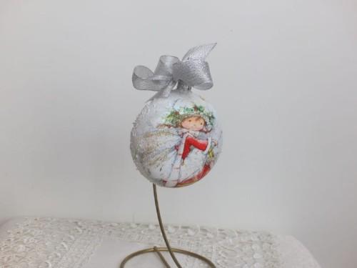 DSCF1571bombka, kula,święta , Boże Narodzenie, decoupage