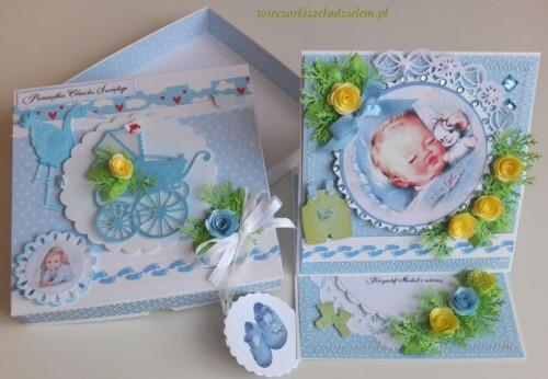 karteczki , życzenia chrzest, pamiątka