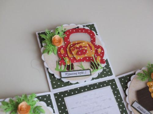 karteczki karteczki exploding box urodziny, imieniny, życzenia