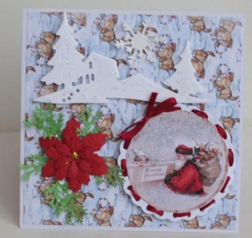 karteczki ręcznie robione, święta Bożego Narodzenia, życzenia 010
