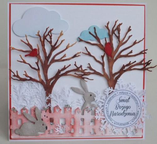 karteczki ręcznie robione, święta Bożego Narodzenia, życzenia 011