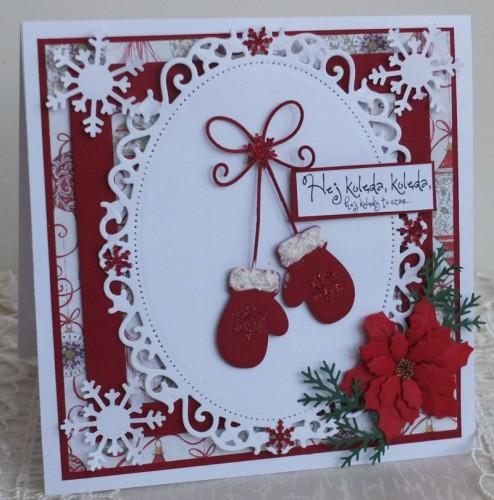 kkarteczka Boże Narodzenie, życzenia , ręcznie robiona  arteczki 083