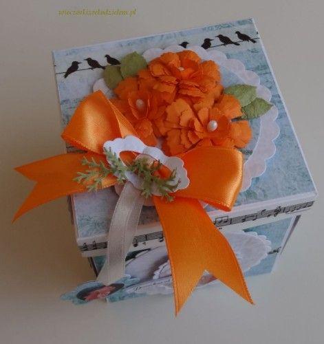 exploding box  DSC02626karteczka na urodziny