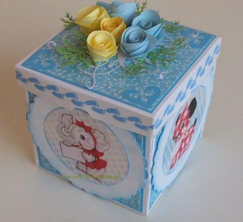 exploding box  karteczki exploding box, urodziny 2 latka, 035