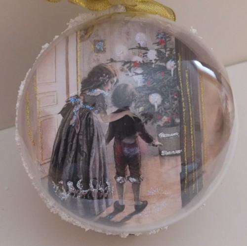 DSCF1Bombka decoupage, święta Bożego Narodzenia8797