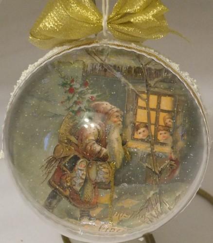 bombka decoupage  Boże Narodzenie 015