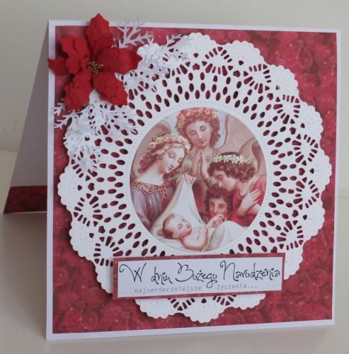 karteczka ręcznie robiona, święta, Boże Narodzenie003
