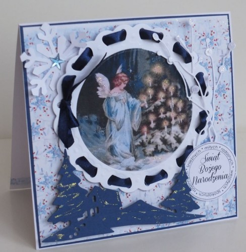 karteczka ręcznie robiona, święta, Boże Narodzenie004