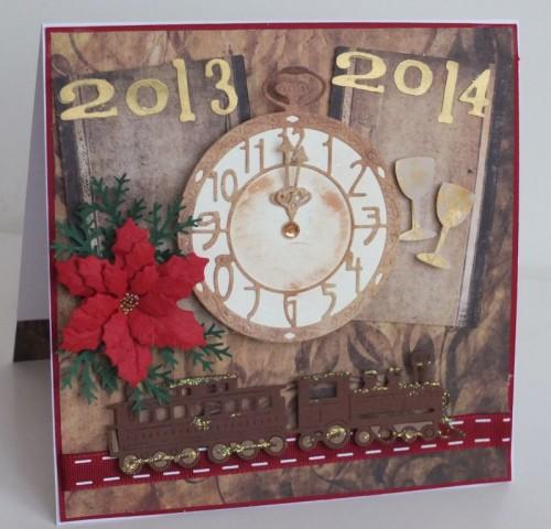 karteczka ręcznie robiona, święta, Boże Narodzenie005