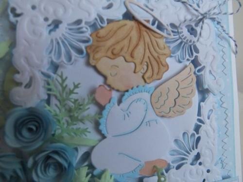 karteczki ręcznie robione, chrzestBożego Narodzenia, życzenia 004