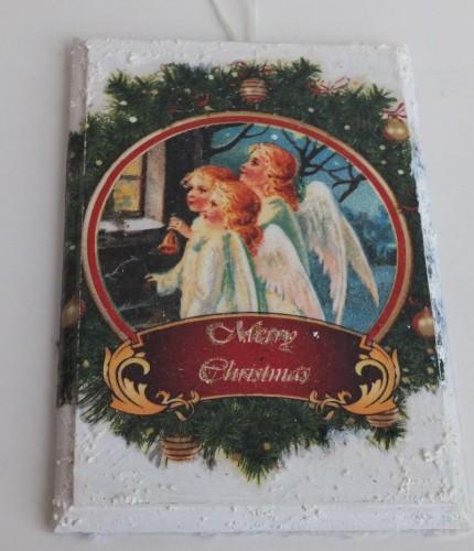 obrazek decoupage, święta Bożego Narodzenia8