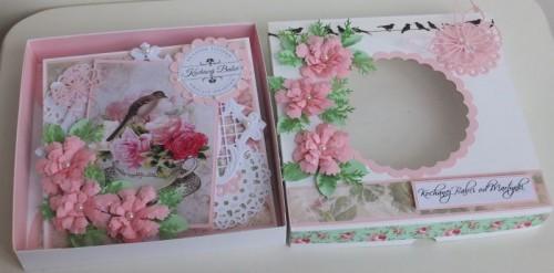 życzenia na Dzień Babci, Dzień Dziadka  karteczka ręcznie robiona