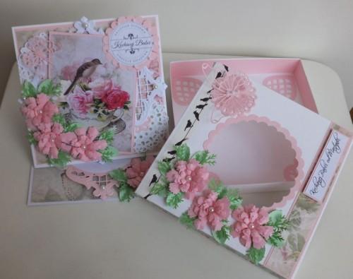 życzenia na Dzień Babci, Dzień Dziadka  karteczka ręcznie robionaDSCF2257