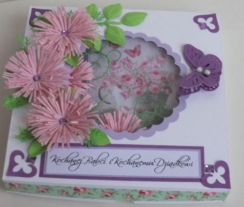 życzenia na Dzień Babci, Dzień Dziadka  karteczka ręcznie robionaDSCF2261