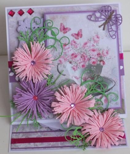 życzenia na Dzień Babci, Dzień Dziadka  karteczka ręcznie robionaDSCF2263