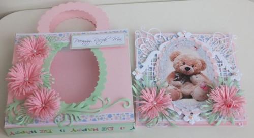 życzenia na Roczek  karteczka ręcznie robionaDSCF2252