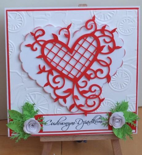 Dzień Babci, Dzień Dziadka, życzenia, karteczka ręcznie robionaDSCF2183