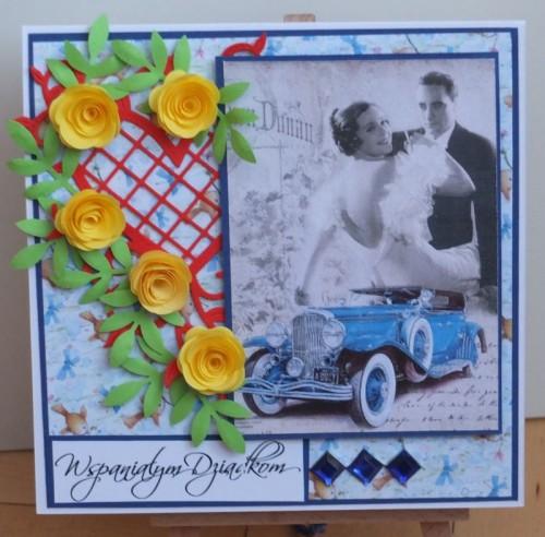 Dzień Babci, Dzień Dziadka, życzenia, karteczka ręcznie robionaDSCF2186