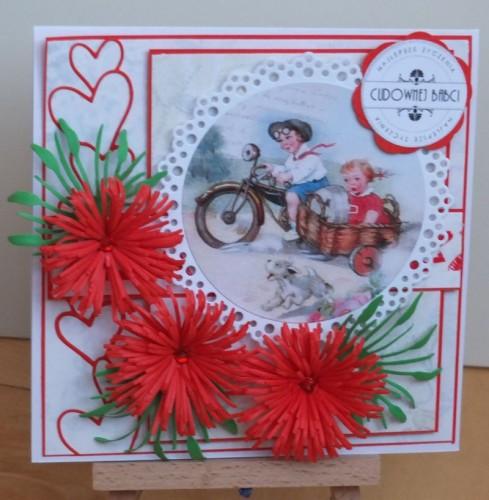 Dzień Babci, Dzień Dziadka, życzenia, karteczka ręcznie robionaDSCF2188