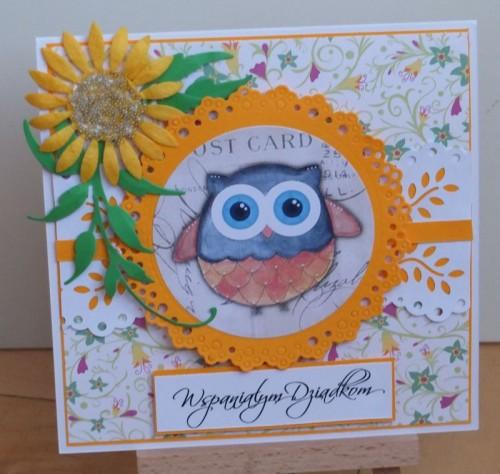Dzień Babci, Dzień Dziadka, życzenia, karteczka ręcznie robionaDSCF2189