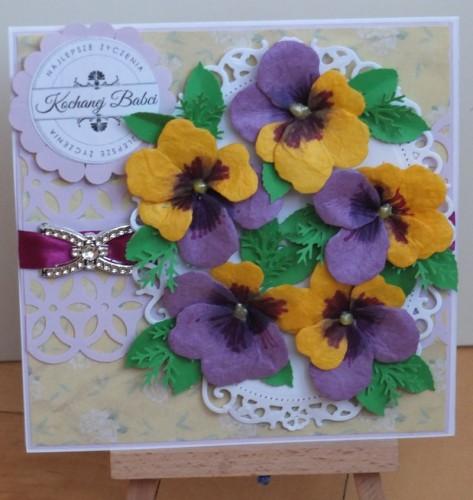 Dzień Babci, Dzień Dziadka, życzenia, karteczka ręcznie robionaDSCF2191