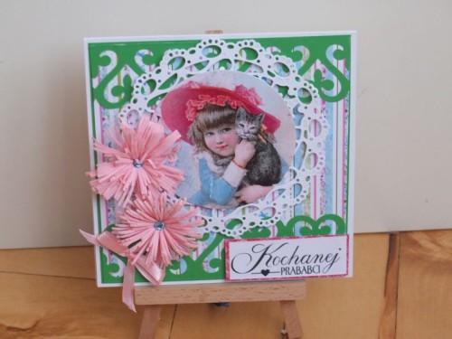 Dzień Babci, Dzień Dziadka, karteczka ręcznie robiona, życzeniaDSCF2180