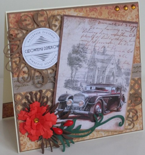 Dzień Babci, dziadka, życzenia, karteczka recznie robionaDSCF2218