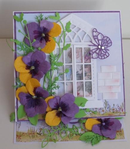 karteczka ręcznie robiona na Dzień Babci, Dzień Dziadka DSCF2238