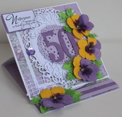 DSCFurodziny, imieniny, podziękowania, życzenia , karteczka ręcznie robiona2226