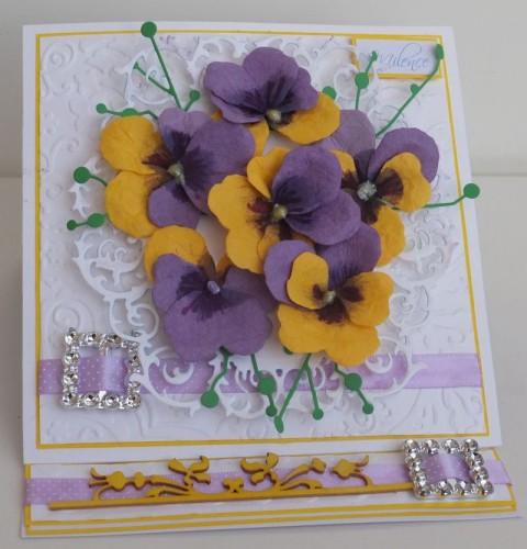 Urodziny, imieniny, kartka ręcznie robiona DSCF2295