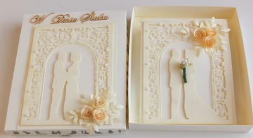 DSCF2465ślubna karteczka ręcznie robiona