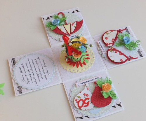 DSCF2478urodzinowa karteczka ręcznie robiona box