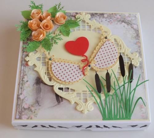 urodzinowa karteczka ręcznie robiona