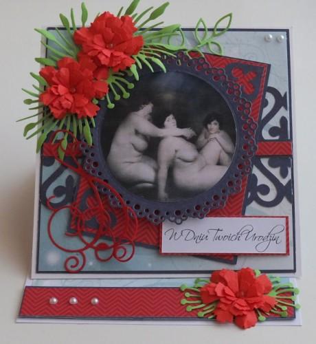 urodziny, imieniny, podziękowania, życzenia , karteczka ręcznie robiona DSCF2052