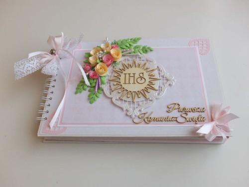 Album dla dziewczynki Pierwsza Komunia ŚwiętaDSCF2617