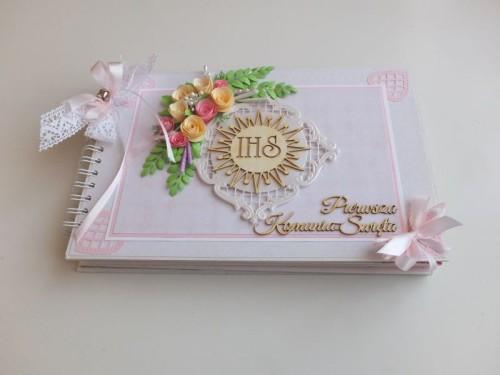 Album dla dziewczynki Pierwsza Komunia ŚwiętaDSCF2618