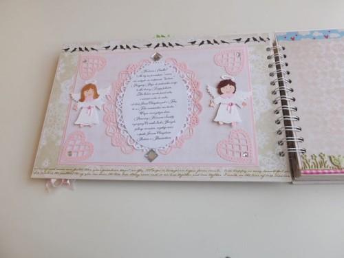 Album dla dziewczynki Pierwsza Komunia ŚwiętaDSCF2619