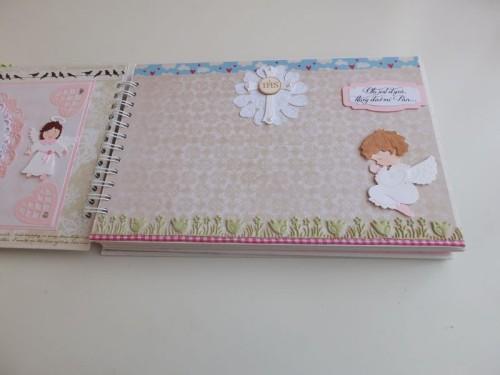 Album dla dziewczynki Pierwsza Komunia ŚwiętaDSCF2620