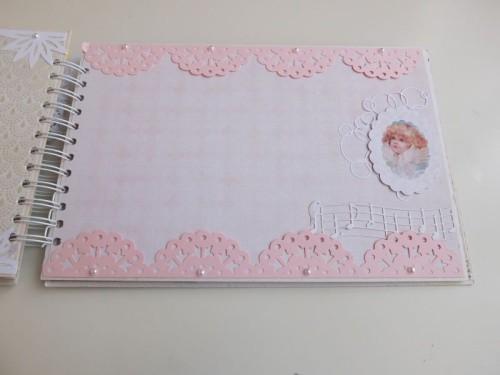 Album dla dziewczynki Pierwsza Komunia ŚwiętaDSCF2630