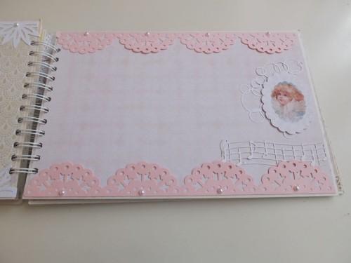Album dla dziewczynki Pierwsza Komunia ŚwiętaDSCF2632