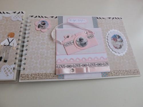 Album dla dziewczynki Pierwsza Komunia ŚwiętaDSCF2634
