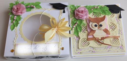 karteczka, podziękowanie, życzenia, wykrojnik sizzix, cottage cutz, memory box MD, JoyDSCF2976