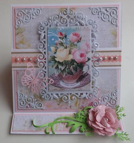 Urodziny, życzenia, kwiaty, wykrojnik, memory box, joy sizzixDSCF2981