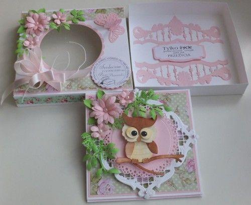 karteczka, życzenia podziękowania wykrojnik sizzix, memory box, joy, cottage cutzDSCF2943