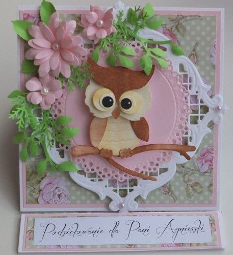 karteczka, życzenia podziękowania wykrojnik sizzix, memory box, joy, cottage cutz MDDSCF2944