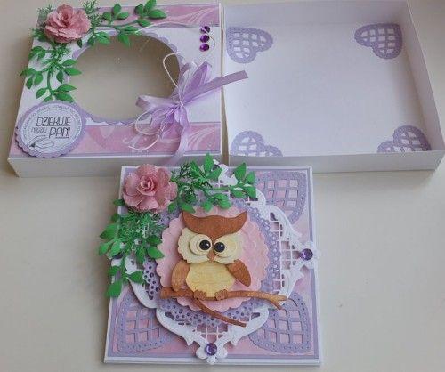 karteczka, podziękowanie, życzenia, wykrojnik sizzix, cottage cutz, memory box MD, JoyDSCF2949