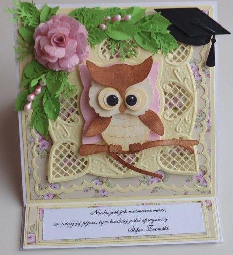 karteczka, podziękowanie, życzenia, wykrojnik sizzix, cottage cutz, memory box MD, JoyDSCF2977