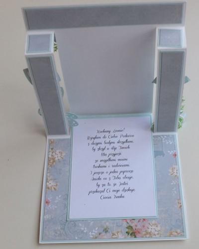 chrzest święty , pamiątka, życzenia, aniołek wykrojnik sizzix, memory, box cottage cutz, MD, JoyDSCF3007