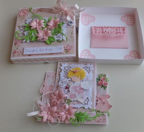 pamiątka, chest święty, karteczka, życzenia, chrzest, dzieci, stokrotki, aniołekDSCF3016
