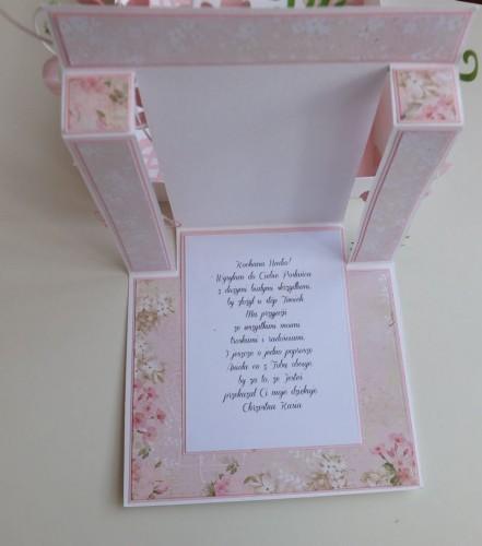pamiątka, chest święty, karteczka, życzenia, chrzest, dzieci, stokrotki, aniołekDSCF3019